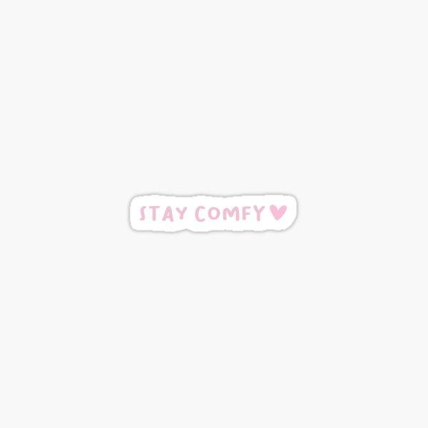 Stay Comfy LilyPichu Sticker