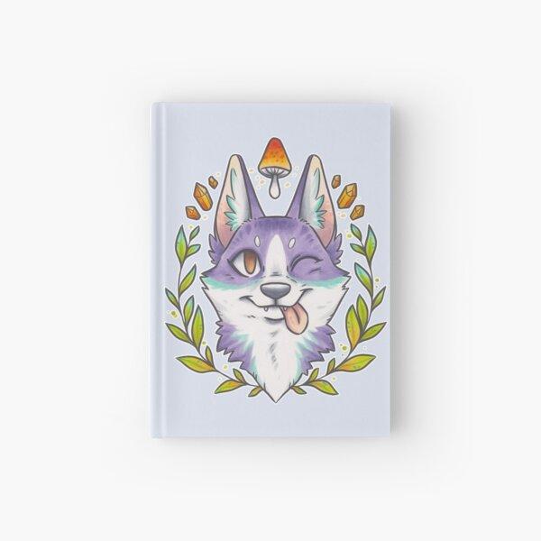 Happy Crystal Doggo Hardcover Journal
