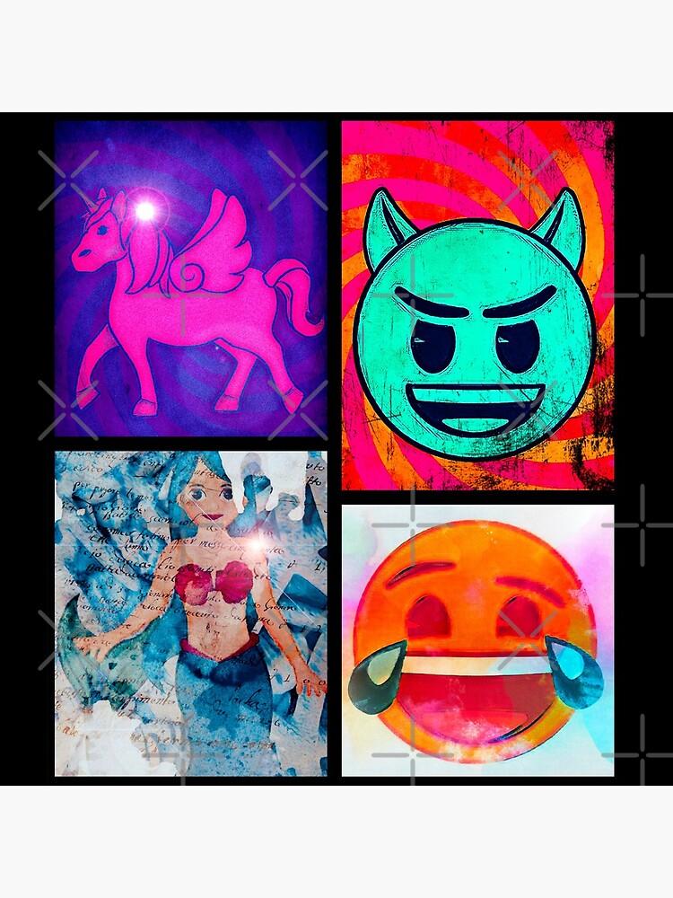 emoji Pop Art by kirs10dee