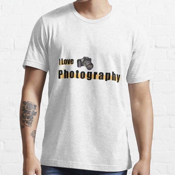 I love photography design T-shirt Essential T-Shirt