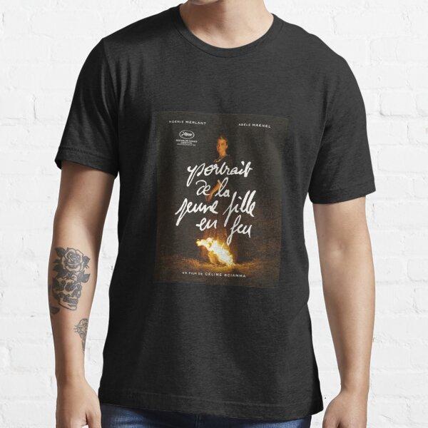 PORTRAIT D'UNE DAME EN FEU Portrait de la jeune fille en feu cannes fr T-shirt essentiel