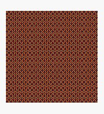 The Shining - Overlook Hotel Carpet Photographic Print