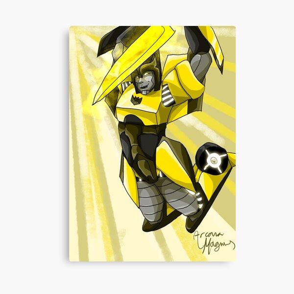 Female Decepticon with Sword Canvas Print