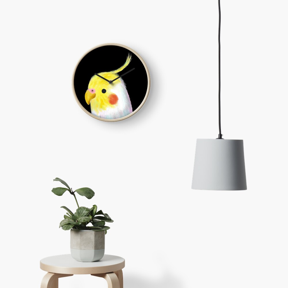 Cockatiel Bird Clock