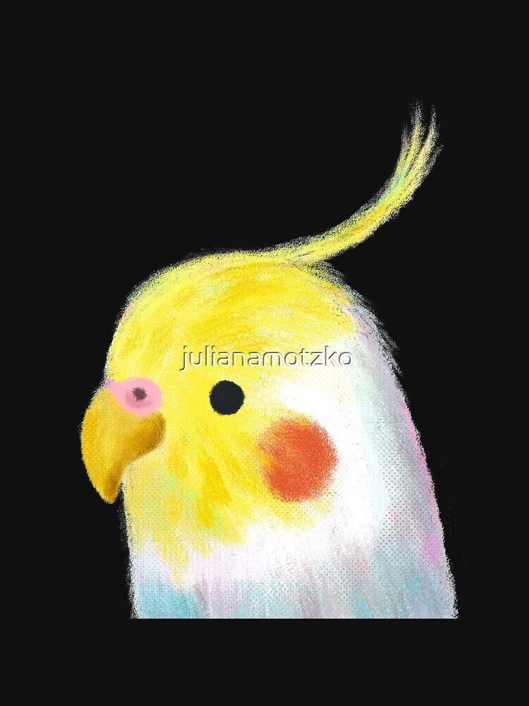 Cockatiel Bird by julianamotzko