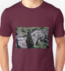 Paysages vieux village France landscapes 23 (c)(h) canon eos 5 by Olao-Olavia / Okaio Créations   1985 T-Shirt