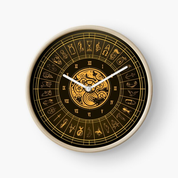 The Alethiometer Clock