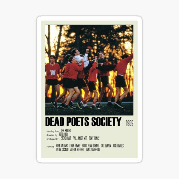 Dead Poets Society Affiche alternative Art Movie Large (3) Sticker