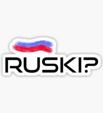 Ruski? Sticker