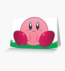 Kirby Greeting Card