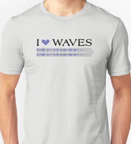 I ♥ Waves T-Shirt