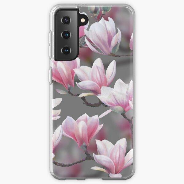 Pink Magnolia Blossom Samsung Galaxy Soft Case