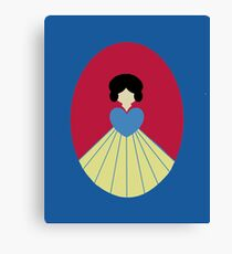 Simplistic Princess #6 Canvas Print