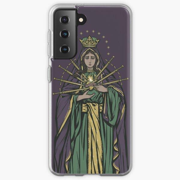 Mater Dolorosa Phone Case Samsung Galaxy Soft Case