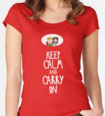 Carry on Women's Fitted Scoop T-Shirt