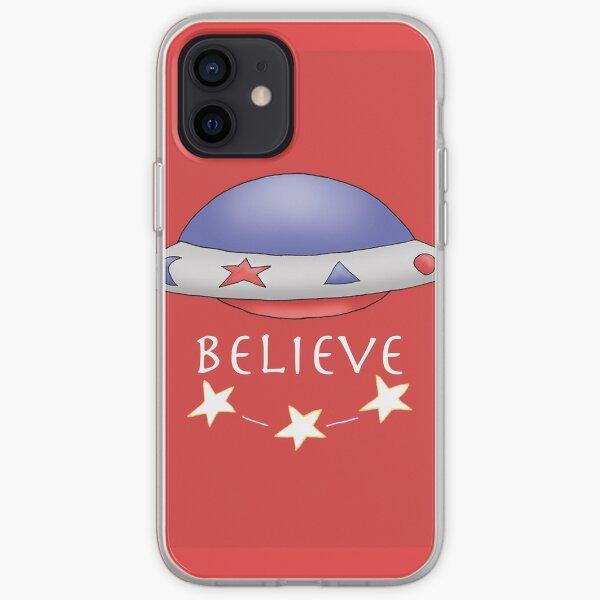 UFO Red iPhone Soft Case