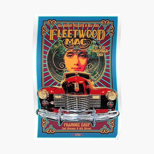 Classic Rock Poster Poster
