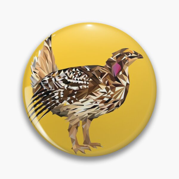 Saskatchewan - Sharp-tailed Grouse Pin