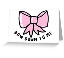 Quot Bow Down To Me ♡ Trendy Hipster Tumblr Meme Quot Stickers By