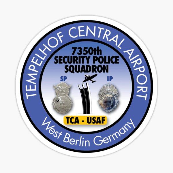 7350. Geschwader der Sicherheitspolizei, SP / IP Zentralflughafen Tempelhof - TCA Sticker