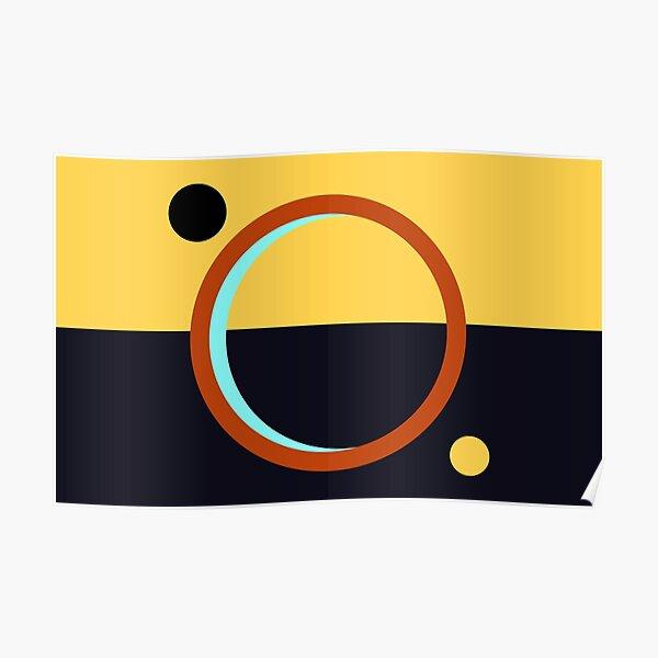 The Expanse Martian Flag Mars Logo Sign Poster