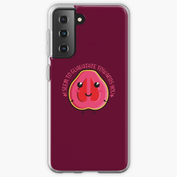I seem to guavatate towards you Kawaii Guava Samsung Galaxy Soft Case