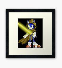 Sonic Skywalker Framed Print