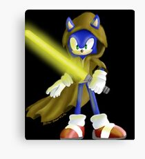 Sonic Skywalker Canvas Print