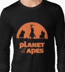 Guerriers de singe T-shirt manches longues