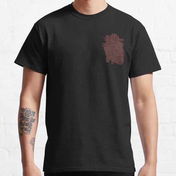 Red Brick Heart  Classic T-Shirt