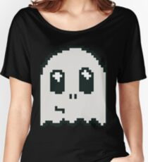 8-bit ghost Women's Relaxed Fit T-Shirt