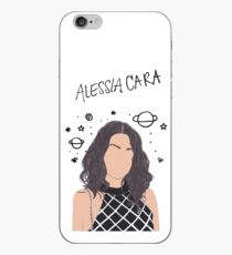 Alessia Cara Drawing iPhone Case