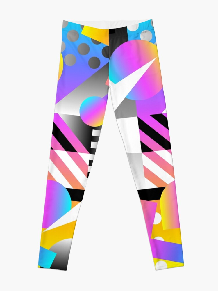 Alternate view of Abstract pattern Leggings