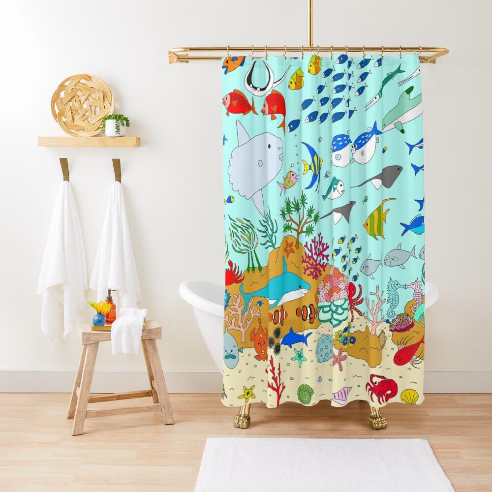 Oceanarium Shower Curtain