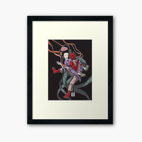 Divine Bow & Arrow  Framed Art Print