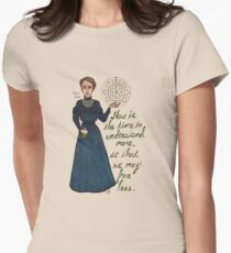 Marie Curie Women's Fitted T-Shirt