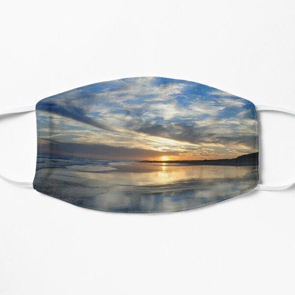 Redhead Beach Sunset Flat Mask