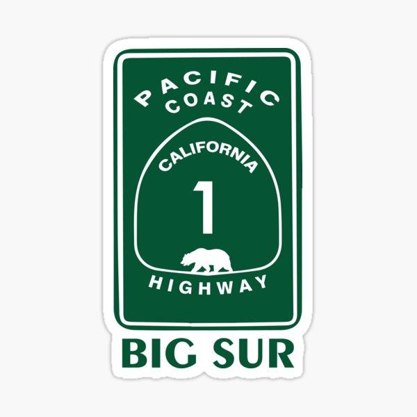 Big Sur. Sticker