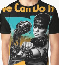 We Can Do It (Furiously) Graphic T-Shirt