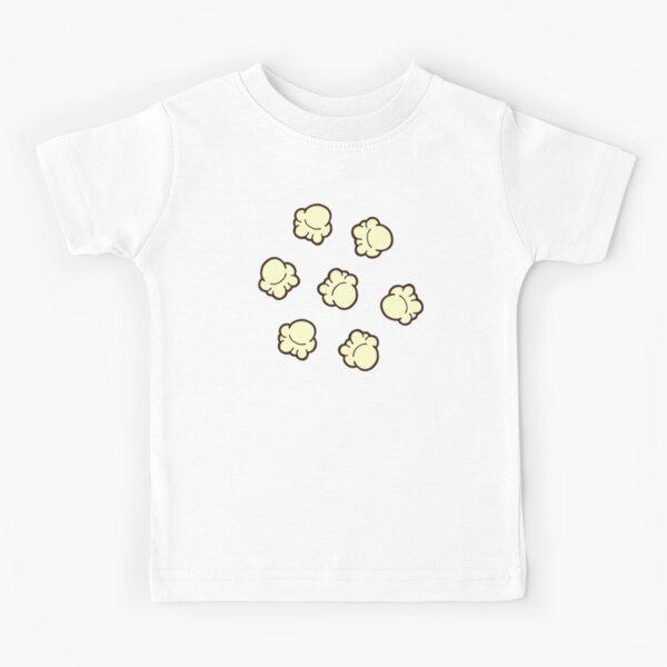 Popcorn Pattern Kids T-Shirt