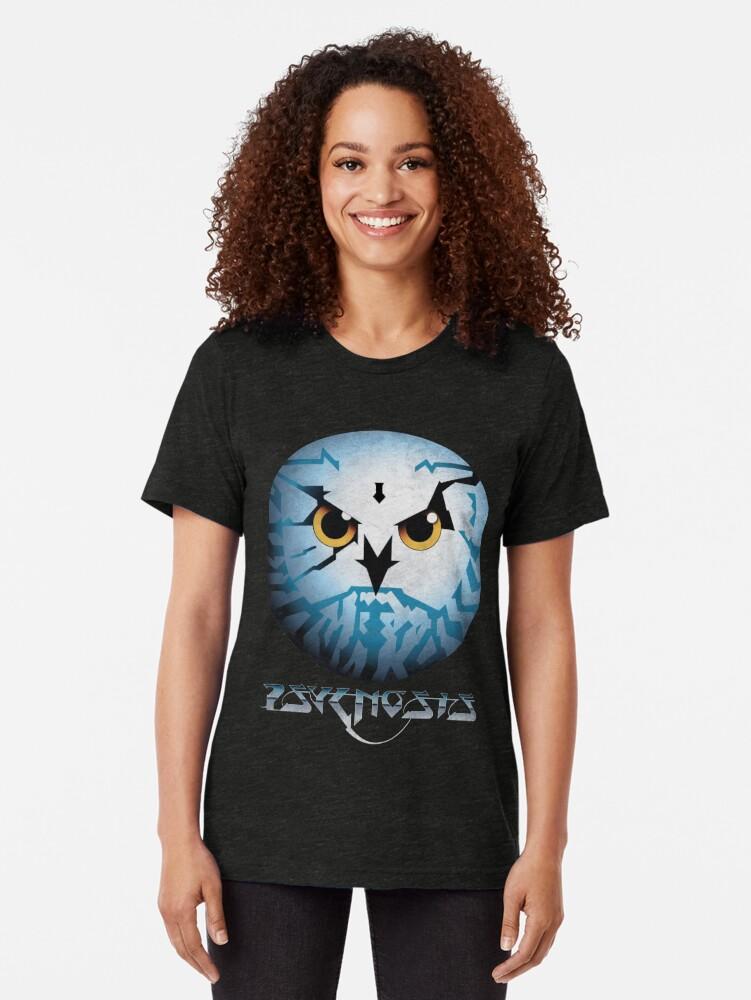 Alternate view of Psygnosis /// Vintage Logo Tri-blend T-Shirt