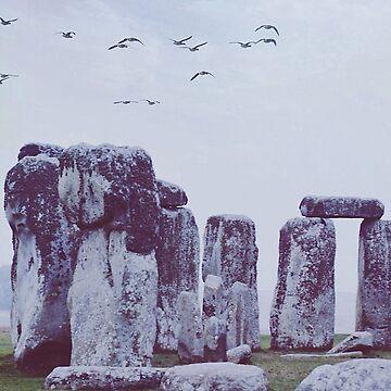 Stonehenge by IndeaVanmerllin