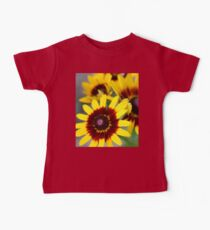 Red and Yellow Black Eyed Susan 2 Baby Tee