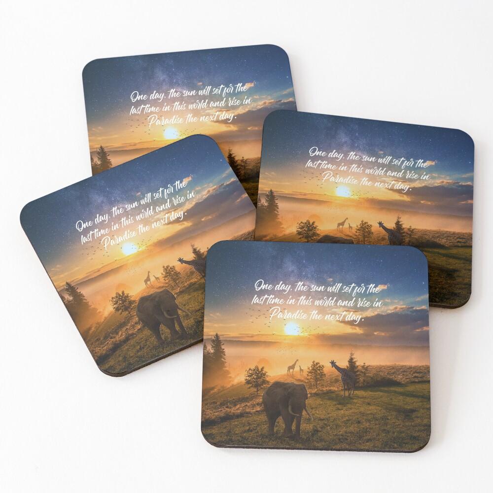 Sunrise In Paradise Coasters (Set of 4)