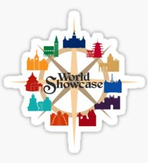 World Showcase Sticker