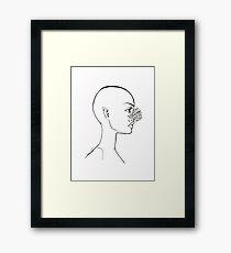 Crystalline Framed Print
