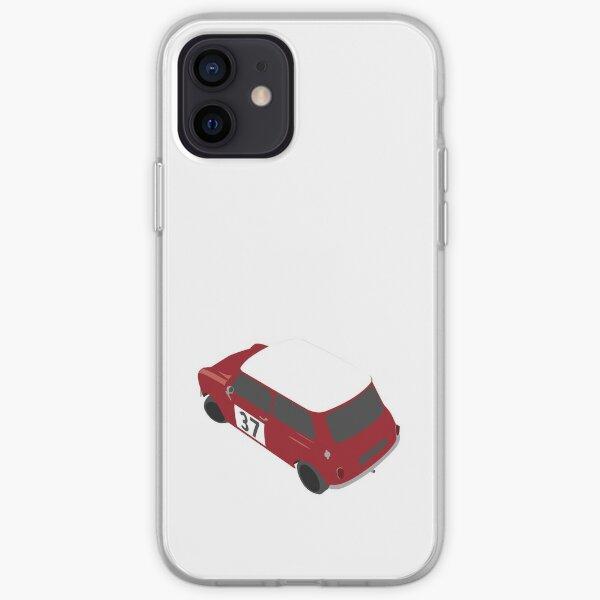 Voiture de rallye Austin Mini Cooper Coque souple iPhone