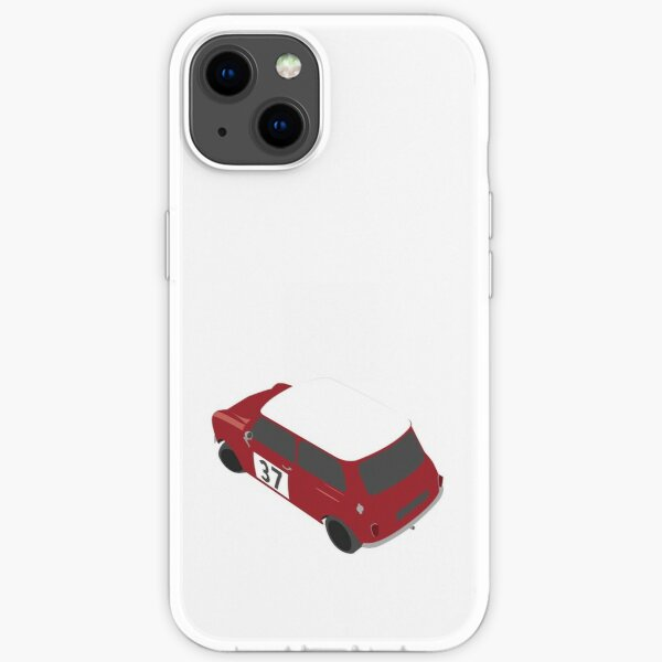Austin Mini Cooper Rallye-Auto iPhone Flexible Hülle