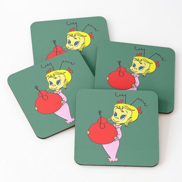 Cindy Lou Who Coasters (Set of 4)