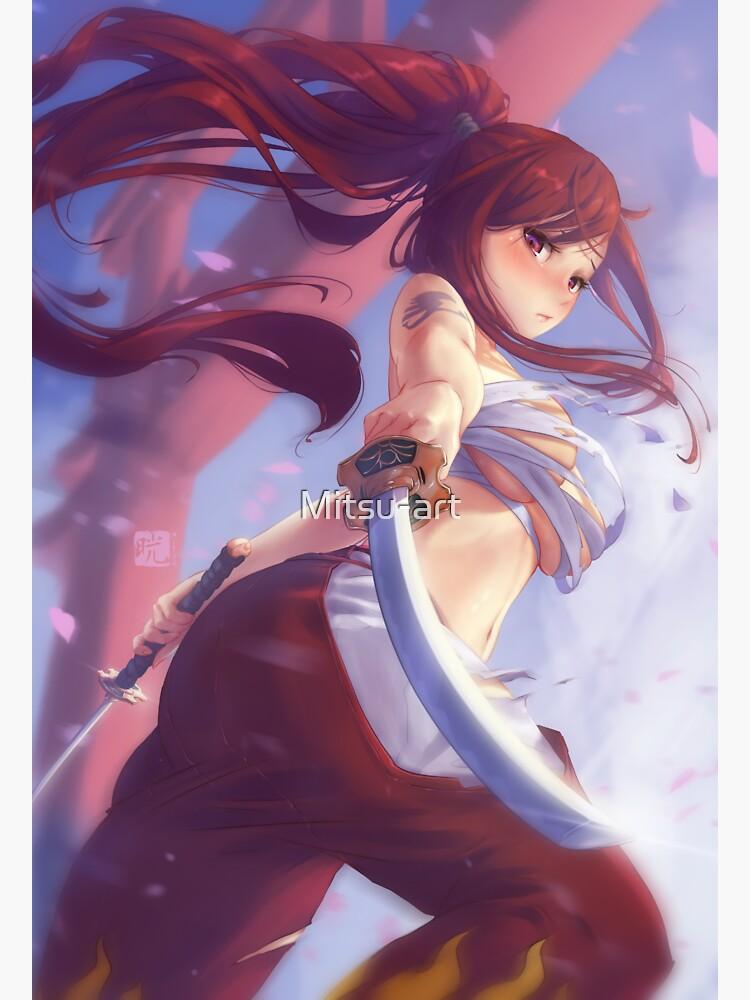 Erza Scarlet | Fairy tail by Mitsu-art